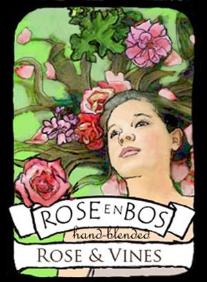 Rose & Vines Rose en Bos de dama