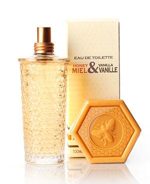 Miel & Vanille (Honey  & Vanilla) L`Occitane en Provence de dama