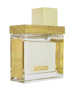 She Wood Golden Light Wood DSQUARED² für Frauen