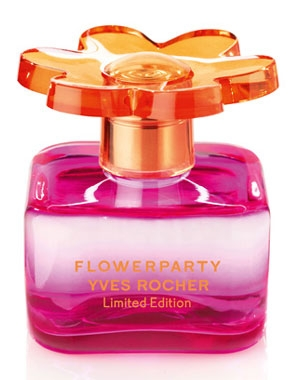 Flowerparty Limited Edition 2011 Yves Rocher de dama