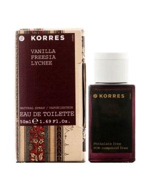 Vanilla Freesia Lychee Korres de dama