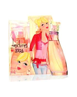 Textures Pink Zara de dama