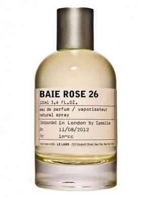 Baie Rose 26 Chicago Le Labo pour homme et femme