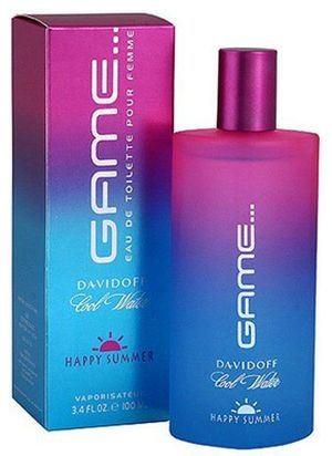 Cool Water Game Happy Summer Davidoff pour femme