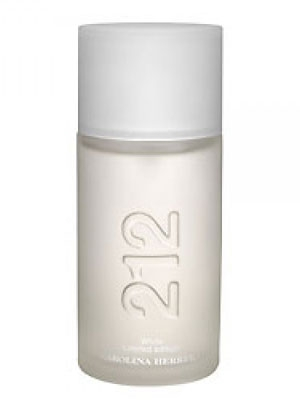 212 Men White Carolina Herrera for men