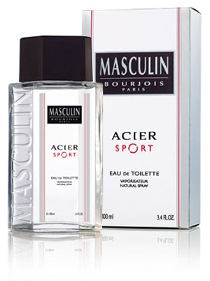 Masculin Acier Sport Bourjois for men