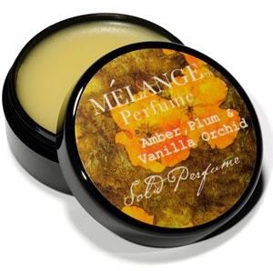 Amber, Plum & Vanilla Orchid Melange Perfume pour homme et femme