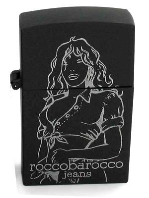 Black Jeans Femme Roccobarocco dla kobiet