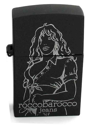 Black Jeans Femme Roccobarocco Feminino