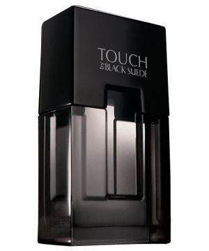 Black Suede Touch Avon for men