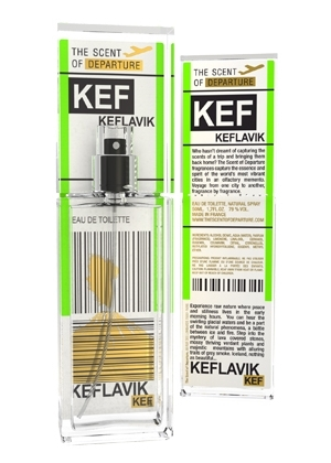 Keflavik KEF The Scent of Departure unisex