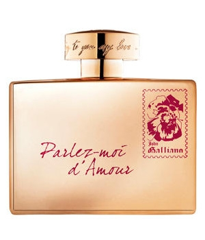 Parlez-Moi d'Amour Gold Edition John Galliano Feminino