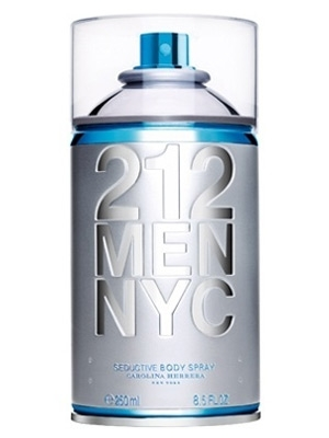 212 Men NYC Body Spray Carolina Herrera pour homme