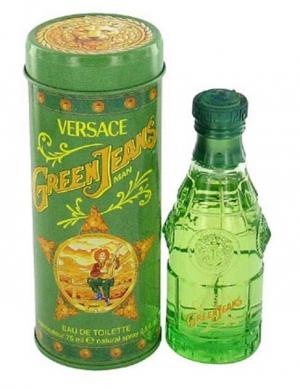 Green Jeans Versace für Männer