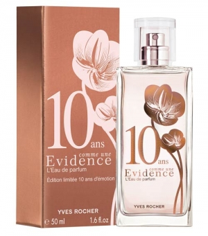 Comme Une Evidence 10 Ans Yves Rocher pour femme