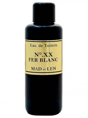 No. XX Fer Blanc Mad et Len Compartilhável