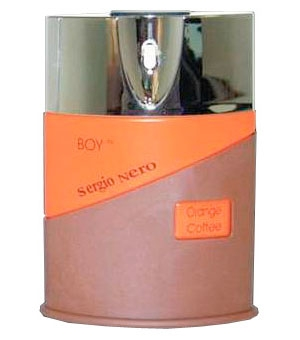 Boy Orange Coffee Sergio Nero for men