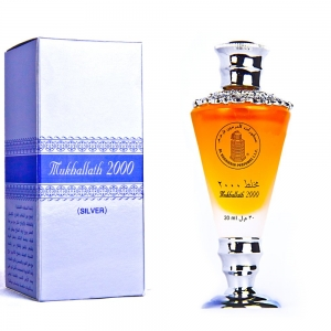 Mukhallath 2000 Silver Al Haramain Perfumes для мужчин