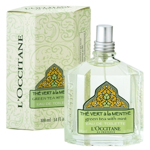 The Vert a la Menthe (Green Tea with Mint) L`Occitane en Provence для мужчин и женщин