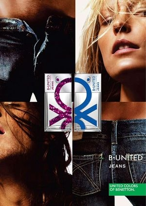 B. United Jeans Woman Benetton para Mujeres