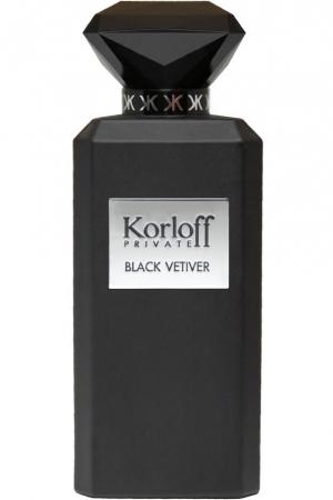 Туалетная вода Black Vetiver Korloff Paris для мужчин и женщин
