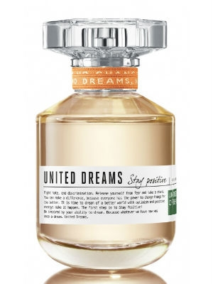 United Dreams Stay Positive Benetton pour femme