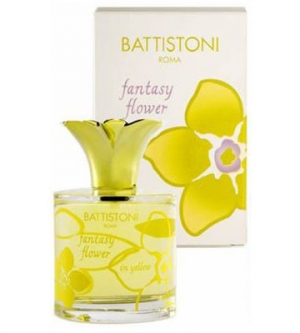 Fantasy Flower In Yellow Battistoni de dama
