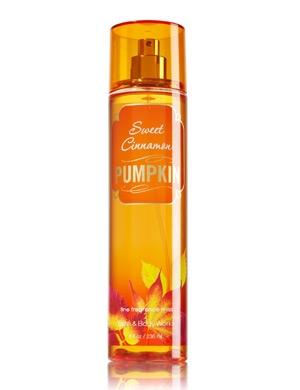 Sweet Cinnamon Pumpkin Bath and Body Works for women