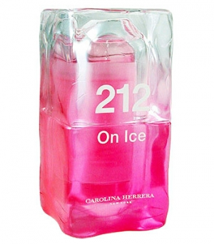 212 on Ice 2006 Carolina Herrera for women