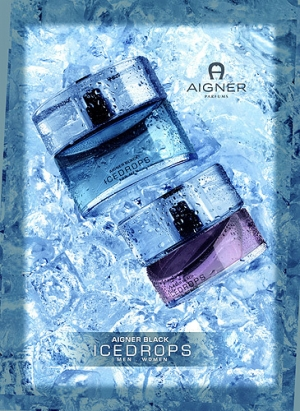 Aigner Black Icedrops Etienne Aigner para Mujeres