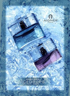 Aigner Black Icedrops Etienne Aigner pour femme
