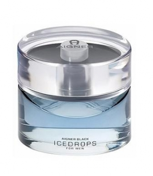 Aigner Black Icedrops for Men Etienne Aigner pour homme