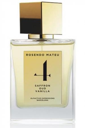 NO 4 Saffron, Oud, Vanilla Rosendo Mateu Olfactive Expressions para Hombres y Mujeres