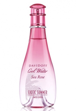 Cool Water Sea Rose Exotic Summer  Davidoff de dama