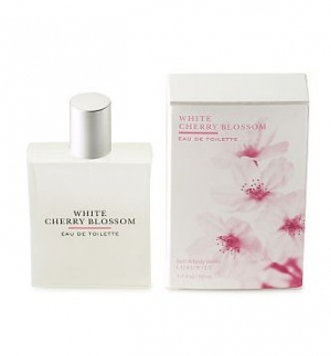 White Cherry Blossom Bath and Body Works pour femme
