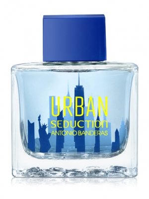 Туалетная вода Urban Seduction Blue от Antonio Banderas для мужчин