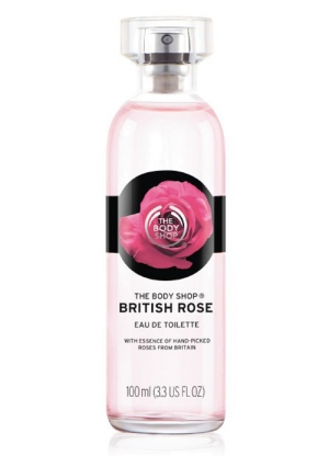 British Rose The Body Shop de dama