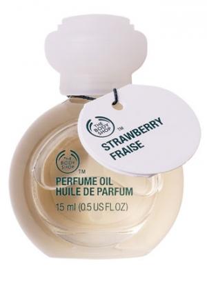 Strawberry Perfume Oil The Body Shop de dama