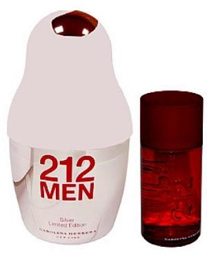 212 Men Silver Carolina Herrera dla mężczyzn