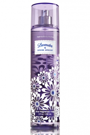 Lavender & Spring Apricot Bath and Body Works for women