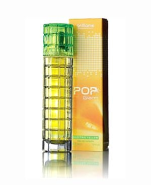 Pop Glam Electric Yellow Oriflame para Mujeres