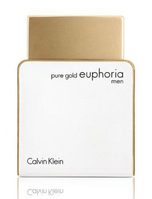Pure Gold Euphoria Men Calvin Klein для мужчин