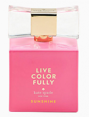Live Colorfully Sunshine Kate Spade para Mujeres