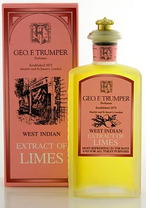Extract of Limes Cologne Geo. F. Trumper de barbati