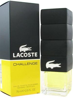 Туалетная вода Challenge Lacoste для мужчин