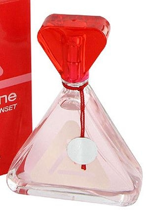 Red Sunset Liz Claiborne de dama