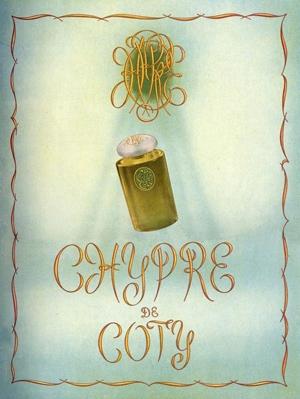 Chypre Coty de dama