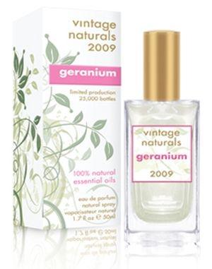 Vintage Naturals 2009 Geranium Demeter Fragrance pour femme