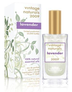 Vintage Naturals 2009 Lavender Demeter Fragrance Feminino