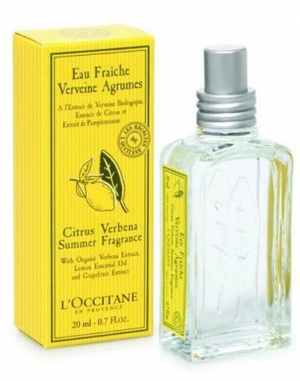 Citrus Verbena Summer Fragrance 2009 L`Occitane en Provence Compartilhável